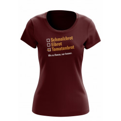 "T-Shirt ""Abendbrot"""