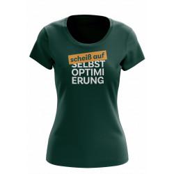 """T-Shirt """"Scheiß auf..."""